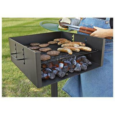 Guide Gear Heavy-Duty Style Charcoal Grill, Large