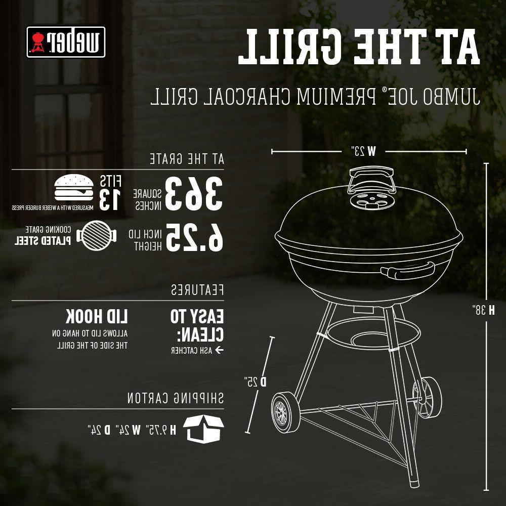 Charcoal Jumbo Kettle Grill