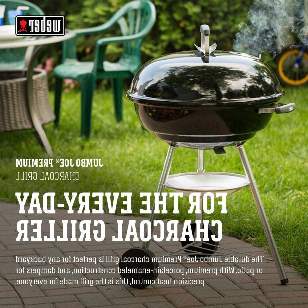 Weber Jumbo Joe Premium Charcoal