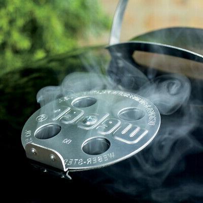 Weber Joe Premium Black Grill 22-Inch Outdoors