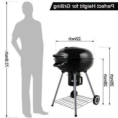 BEAU Charcoal Grill, Generation 22 Inch,