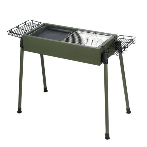 "30""BBQ Barbecue Charcoal Stainless Backyard Cooker Portable"