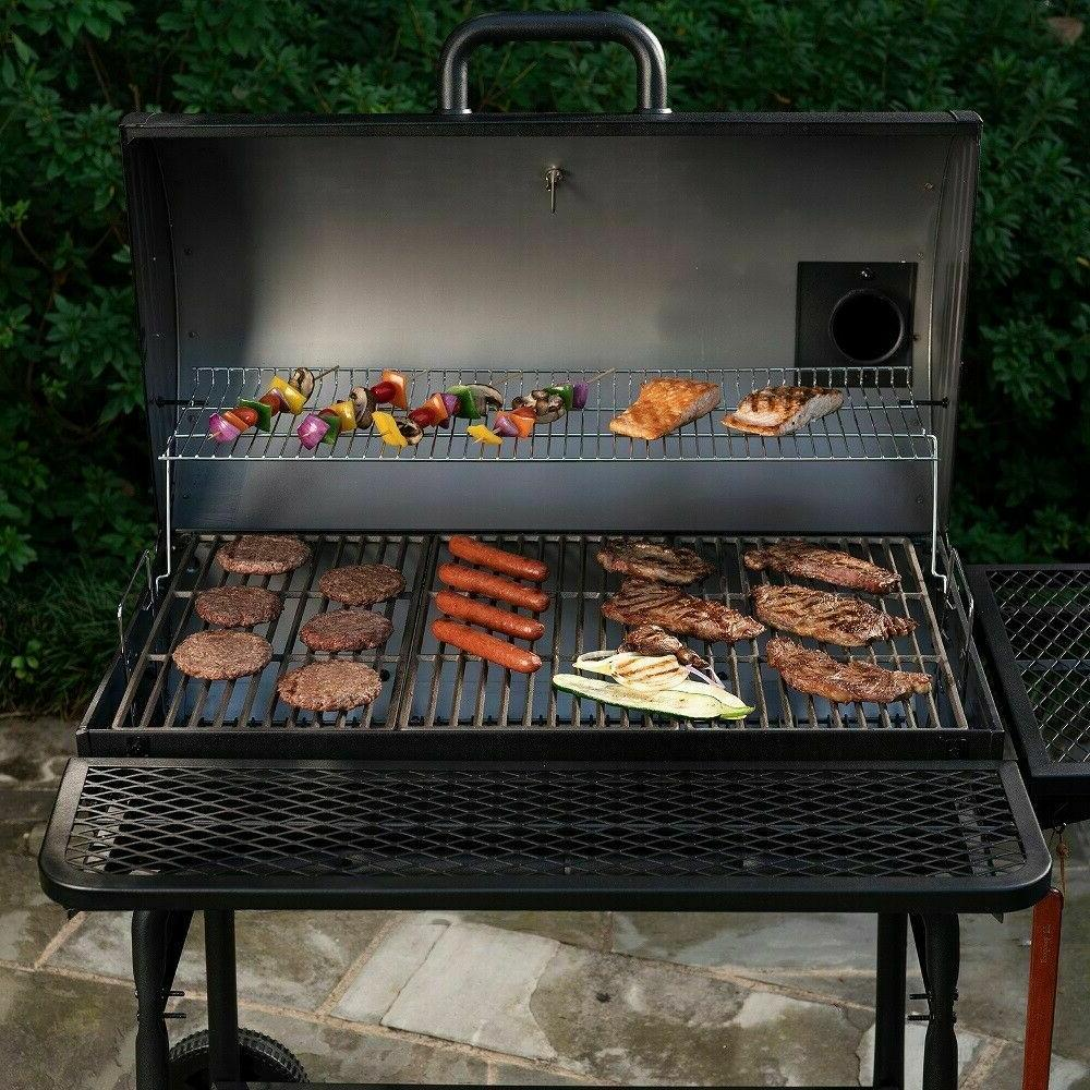 Large Grill Outdoor BBQ Charcoal Professional XL Backyard Co
