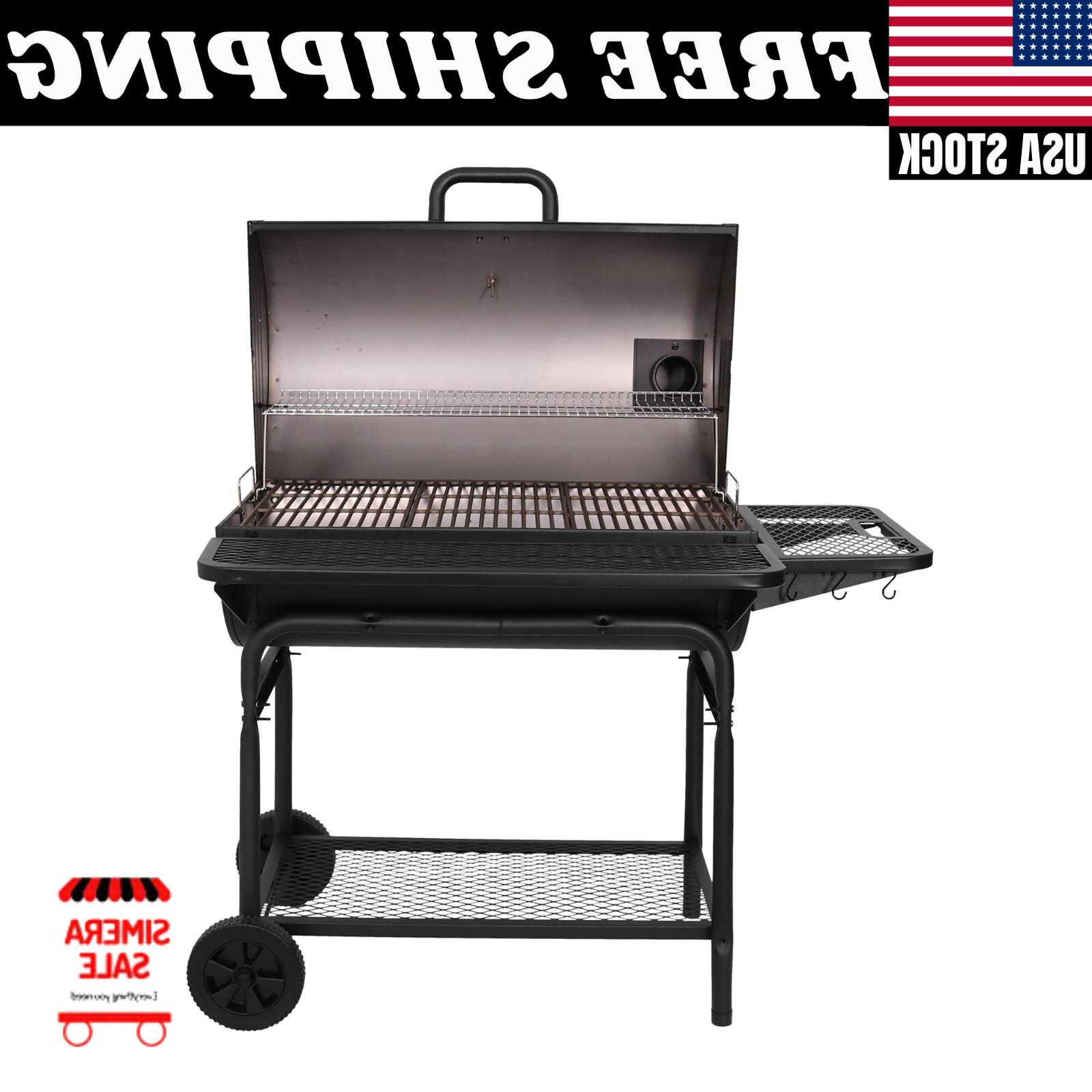 Large Grill Grills Charcoal Backyard