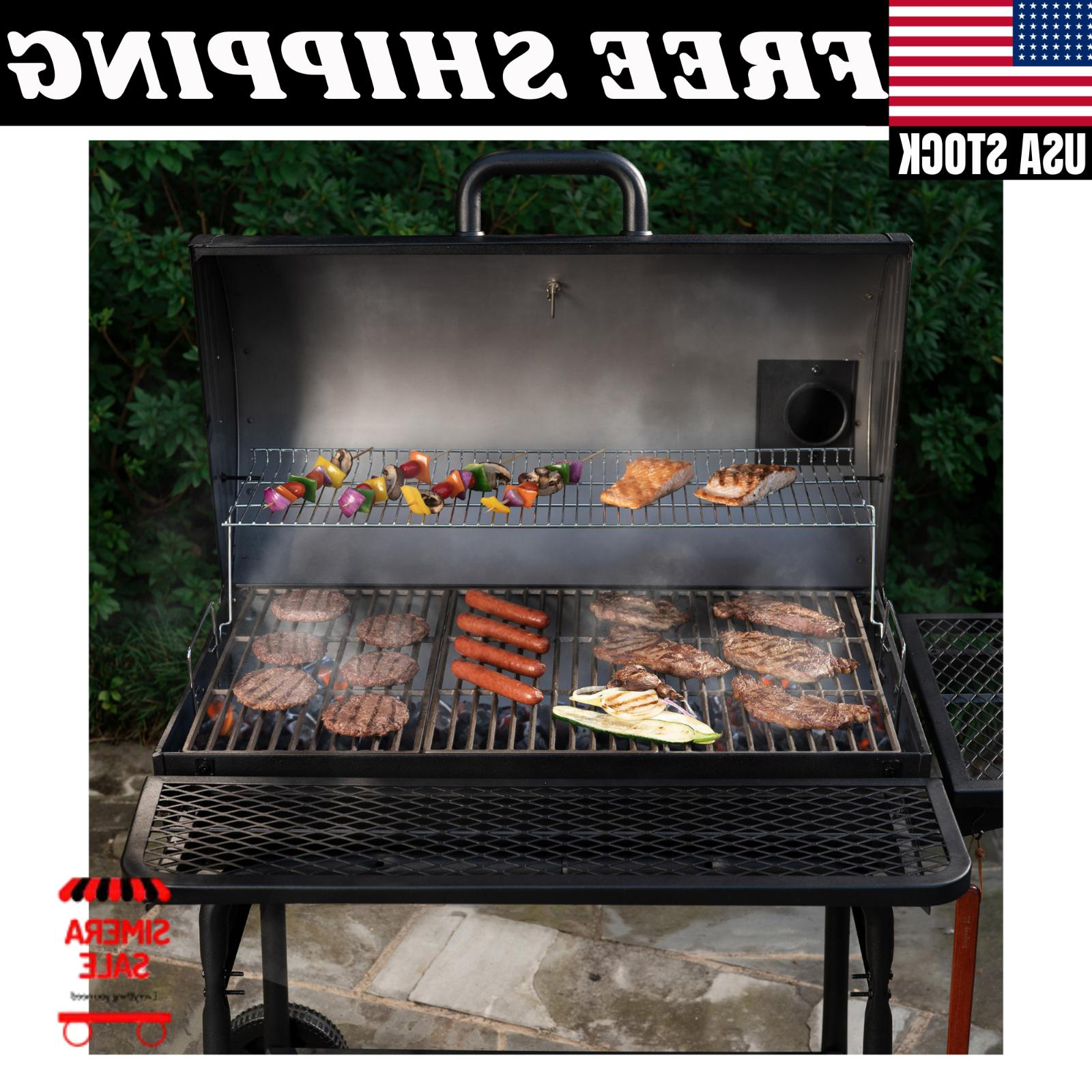 Large Grill Outdoor BBQ Grills Charcoal XL Backyard