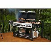 Pit Boss Memphis Ultimate 4-in-1 Gas & Charcoal Combo Grill
