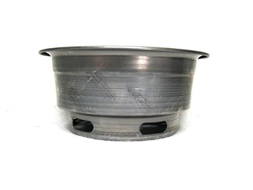 Metal Round Grill Basket Charcoal