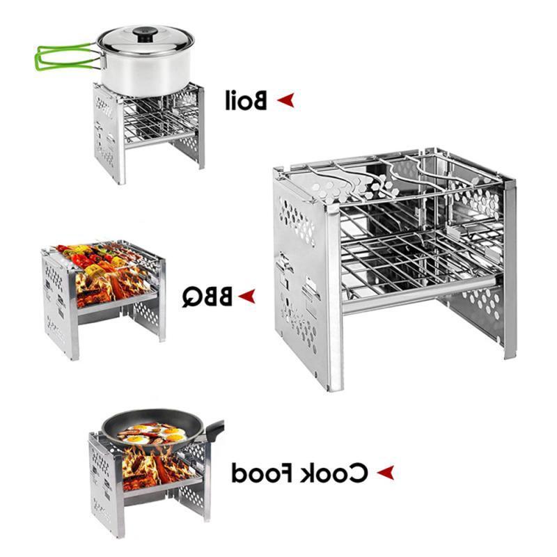 Mini Folding Firewood BBQ