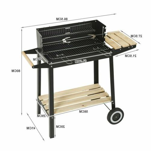 Outdoor BBQ Barbecue Pit Meat
