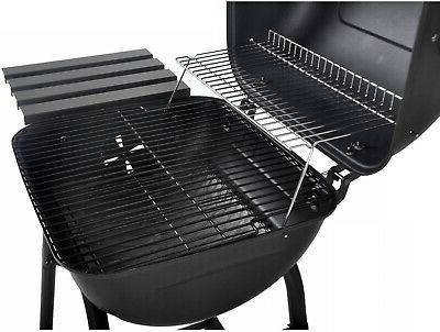 Outdoor BBQ Grill Pit Cooker Smoker gauge stainless