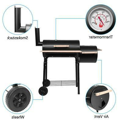 Outdoor Backyard Thermometer BBQ Grill