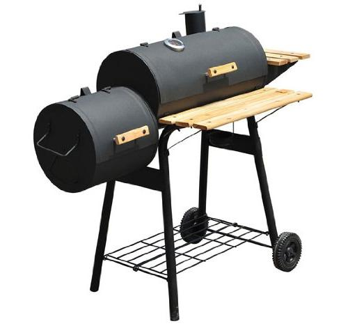 Outsunny Backyard Grill / Combo w/ Wheels