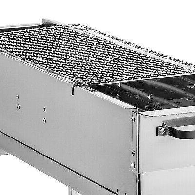 32'' Offset Smoker Wood BBQ Grill
