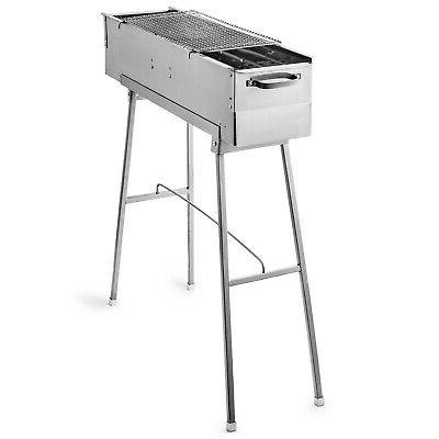 32'' Charcoal Smoker Grill Cooker Grill
