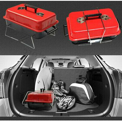 Portable BBQ Indoor Cooking Grill Set