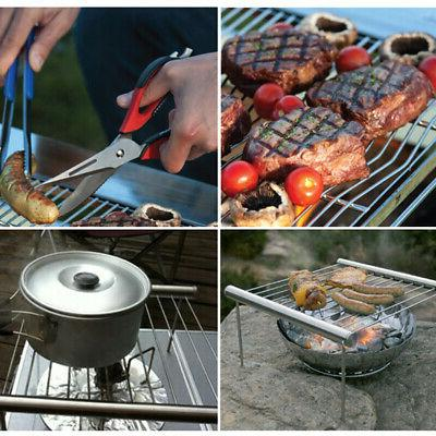 Portable Charcoal Stainless Steel Outdoor Backyard