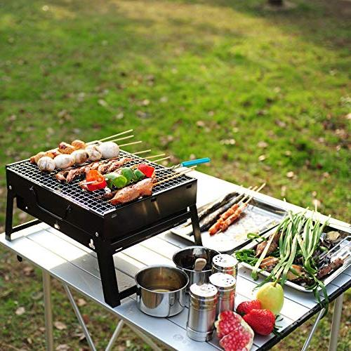 Portable Stove Cooking Camping Wood Charcoal Oven - Kitchen,Dining & Barbecue & 1 Awl
