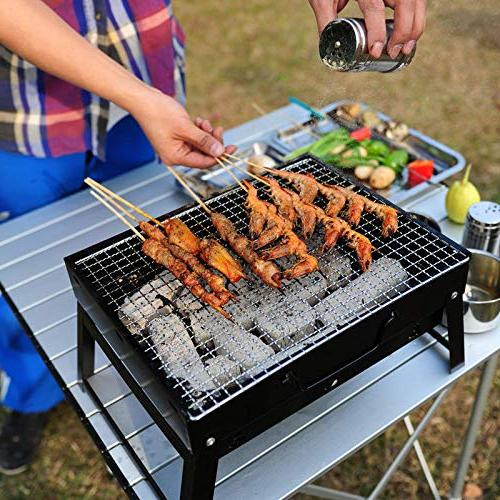 portable barbecue stove cooking picnic