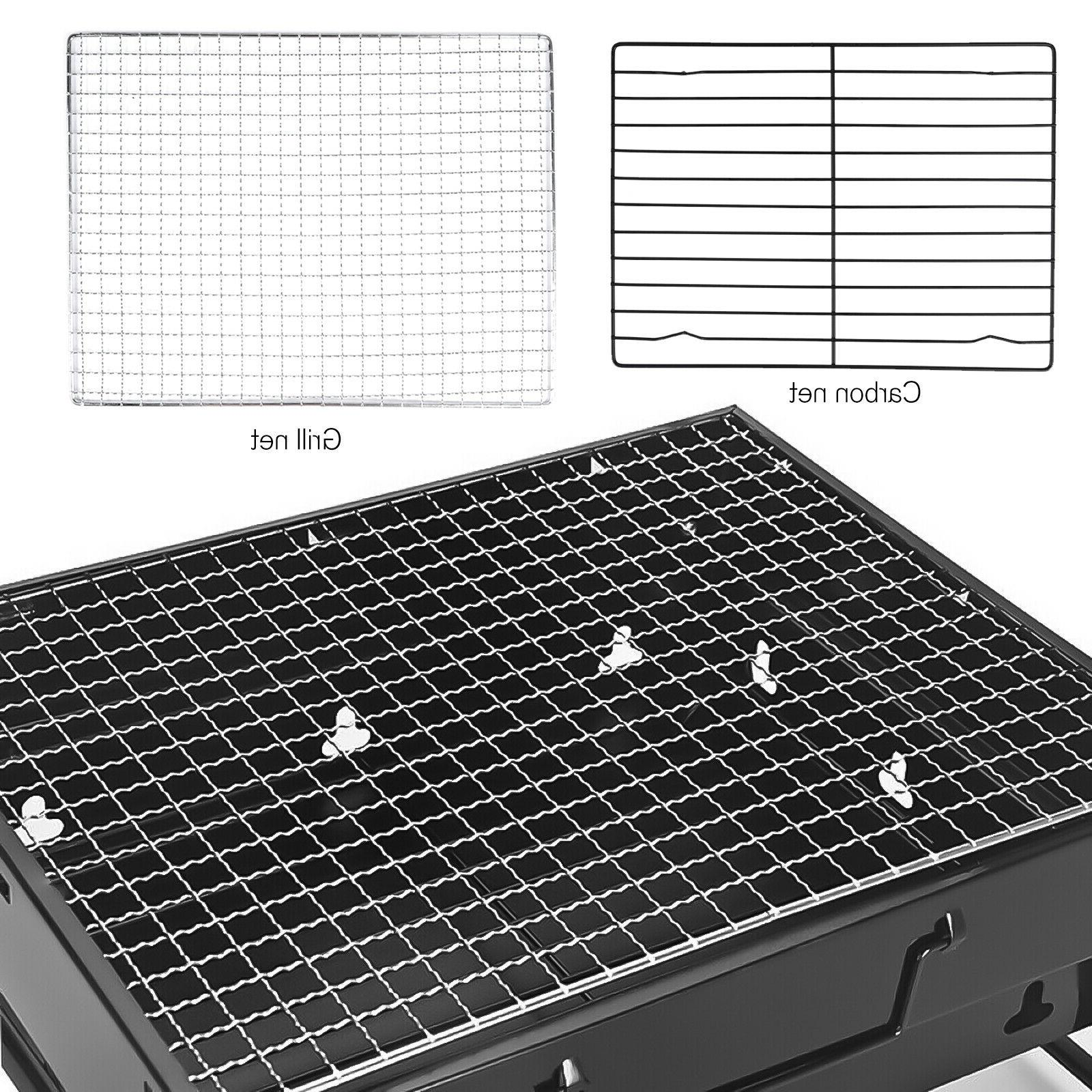 Portable Barbecue Large Charcoal Stove Camping Garden Outdoor