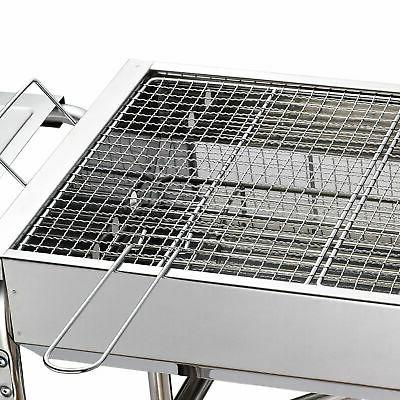 "27"" Grill Kebab Charcoal Stainless Steel Smoker"