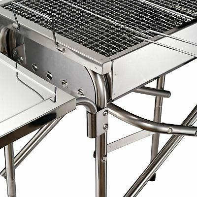 "27"" Portable BBQ Kebab Steel Outsunny"