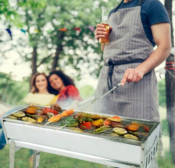 Portable BBQ Stainless Steel Foldable Outdoor Barbecue