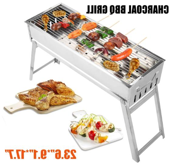 Stainless Steel Foldable Barbecue Patio