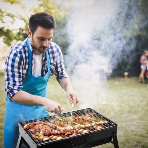Portable Smoker Outdoor Picnic Cooker