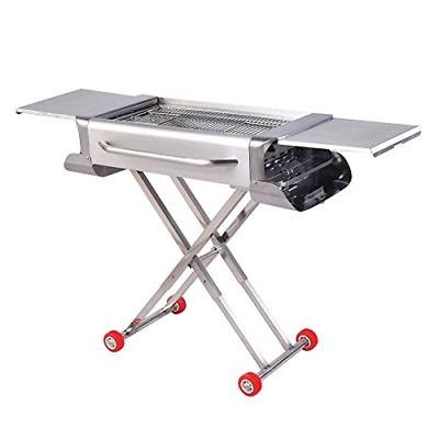 Sougem Portable Charcoal Grill for Outdoor Cooking Camping a