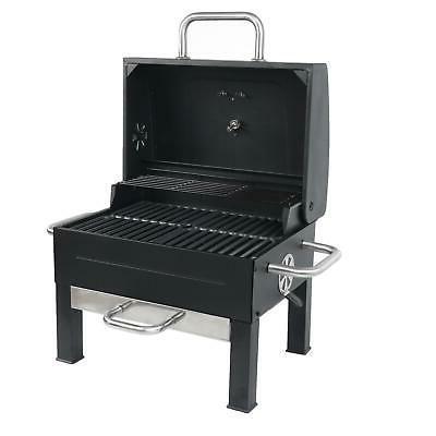 Yard Tailgate Cooking Black Steel