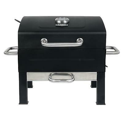 Portable Charcoal Grill Stainless Steel 12 Burgers At Once C