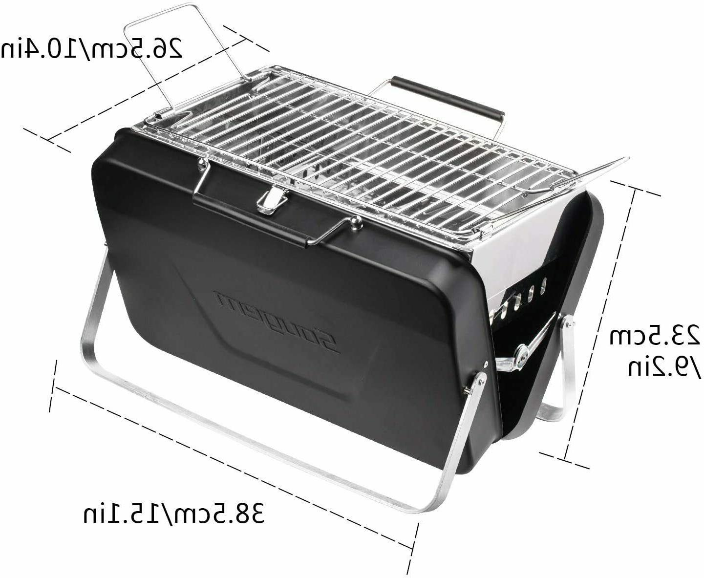 Sougem Portable Stainless Grill,