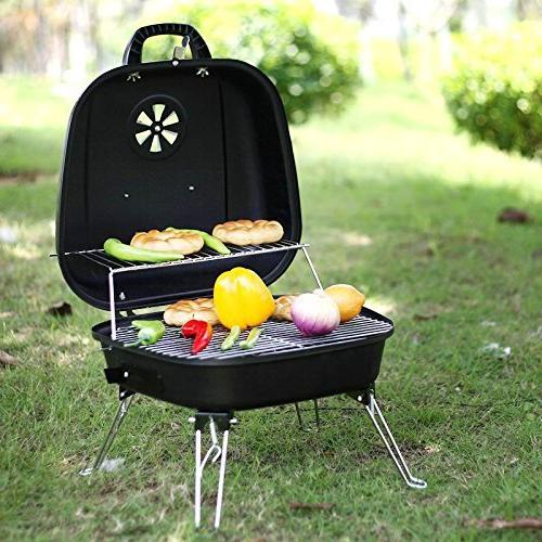 ISUMER Charcoal Grill four legs