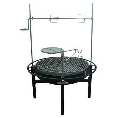 rancher fire pit charcoal grill