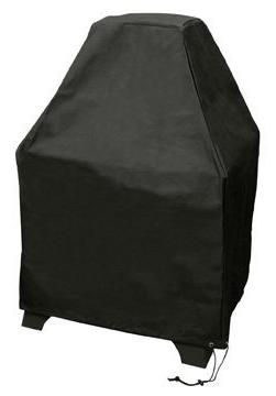 Landmann Redford Outdoor Fireplace Cover Black Polyester Wit