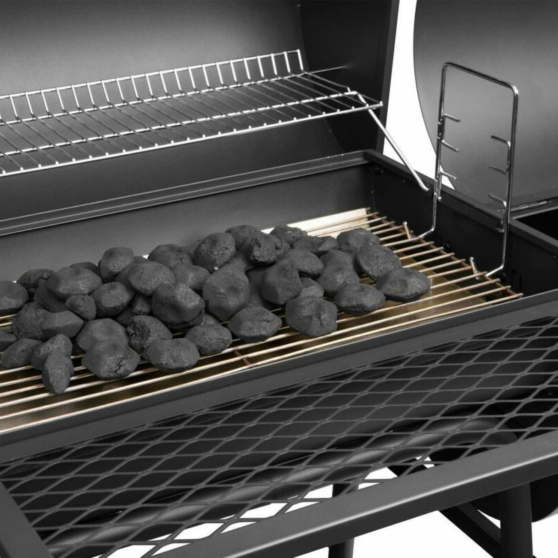Royal Charcoal Grill Smoker, Black Ship