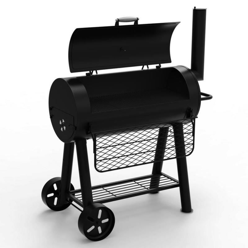 Signature Heavy-Duty Barrel Charcoal Grill