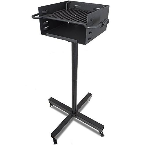 Titan Style Grill w/ Rolling Base BBQ Outdoor