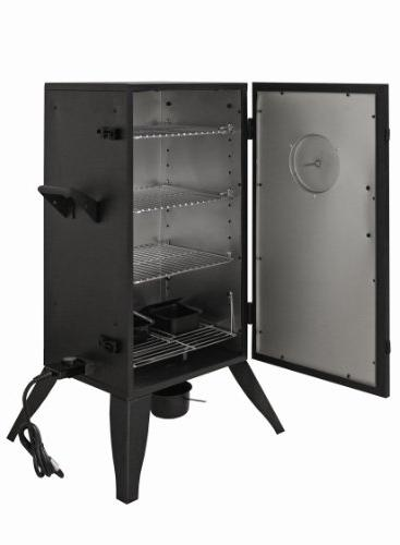 Smoke 30 Electric Smoker, Vertical Smoker, Water Smoker, Residential