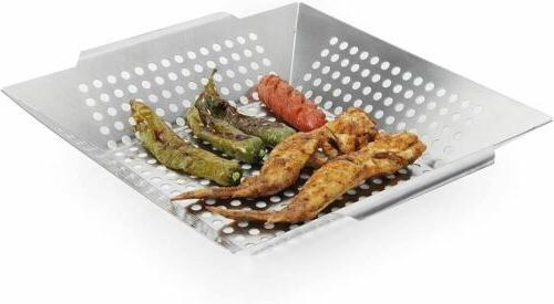 Witswell BBQ Vegetable Grill on Gas Charcoal Grills