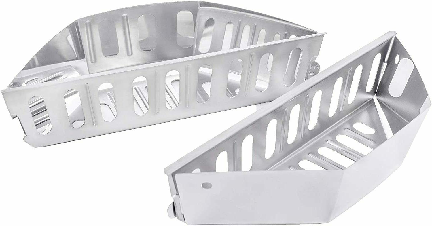 Stainless Basket BBQ Accessories Holders
