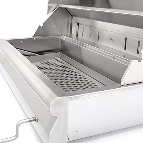 Blaze Grill with Adjustable Tray ,