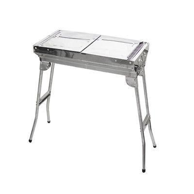 Stainless Steel Portable Charcoal BBQ Outdoor