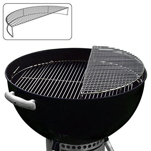 stainless steel warming grilling smoking