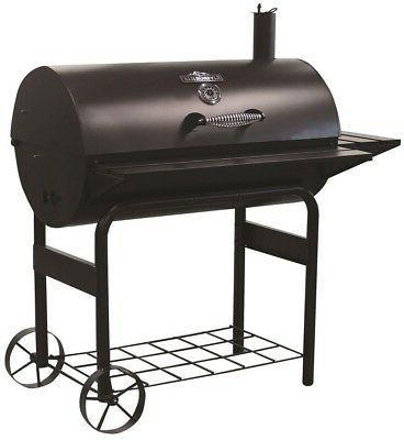stampede charcoal bbq grill barrel