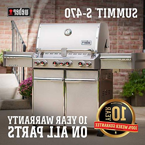 Weber Summit Stainless-Steel Grill