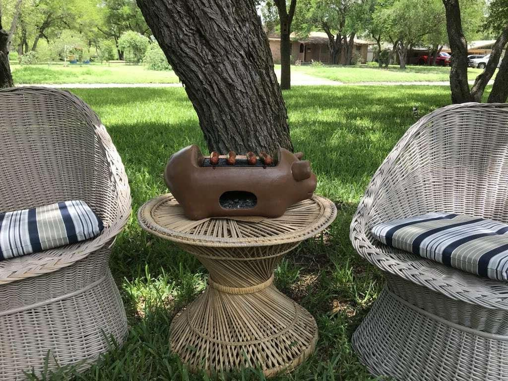Terracotta Grill Outdoor Charcoal FREE