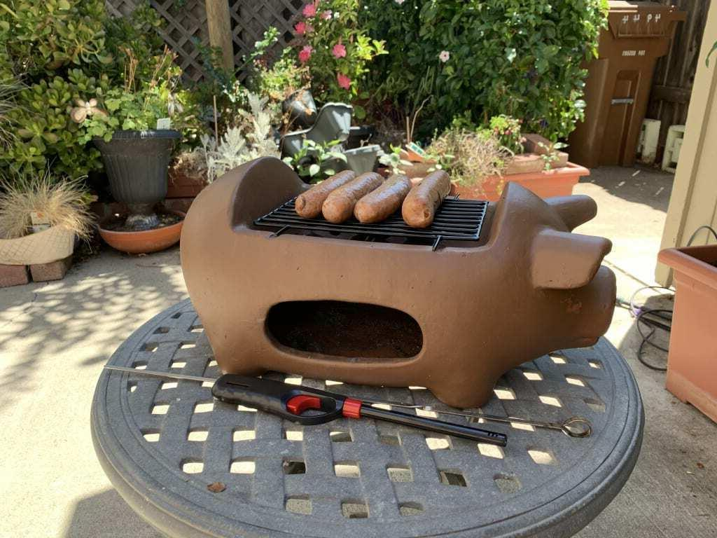 Terracotta Grill Outdoor FREE