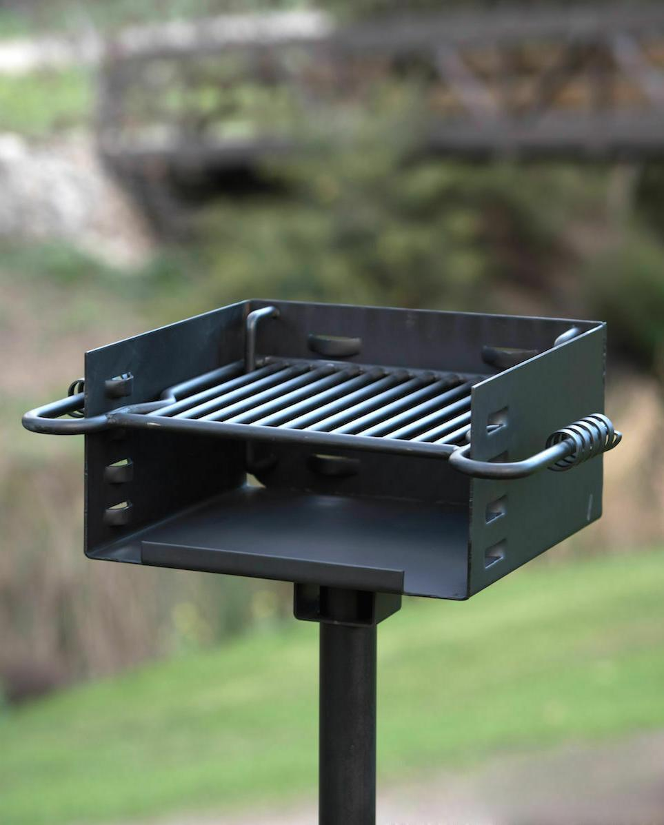 Titan Style Grill Charcoal Outdoor Heavy Duty Camp#