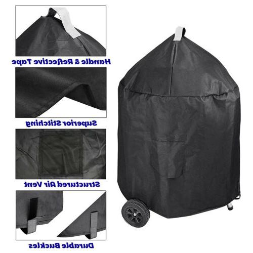 "Waterproof Grill Cover Weber Q100 Q200 Q2000 Q3000 22"" Grills"